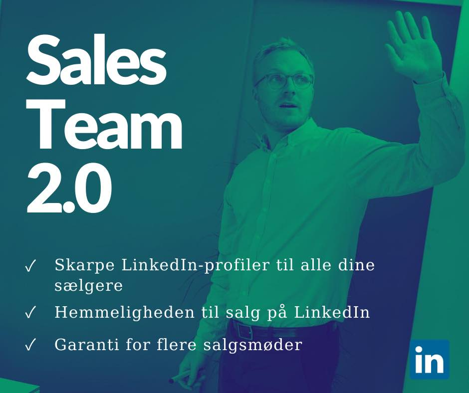 LinkedIn workshop for salgsteams